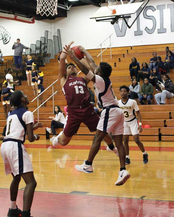 Bloomfield HS boys' basketball team tops Randolph to improve to 6-3