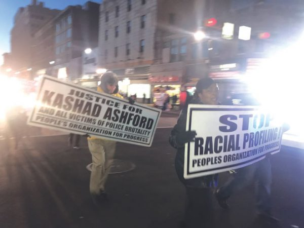 P.O.P. rally becomes march to investigate police-involved fatalities