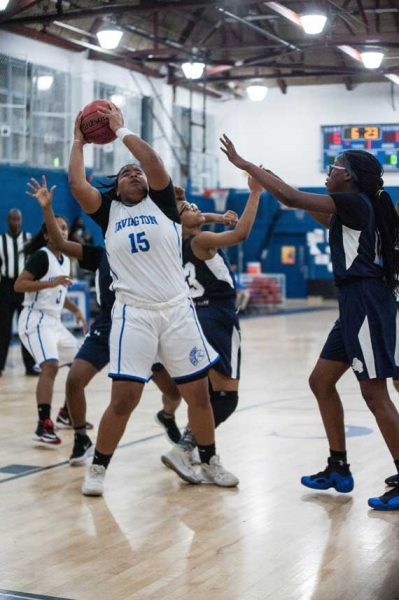 Irvington HS girls' basketball team wins two in a row