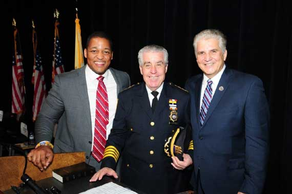 DiVincenzo, Fontoura and Kenney sworn into office Jan. 2