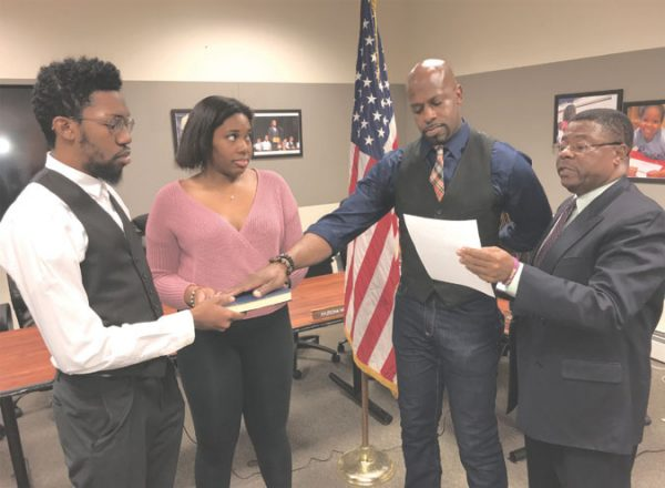 Orange BOE swears in members at reorganization meeting