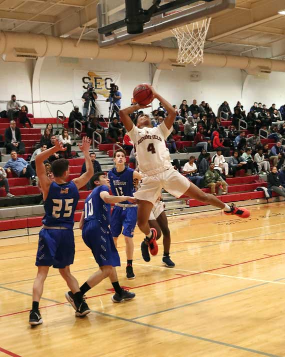 Bloomfield HS boys' basketball team downs Millburn