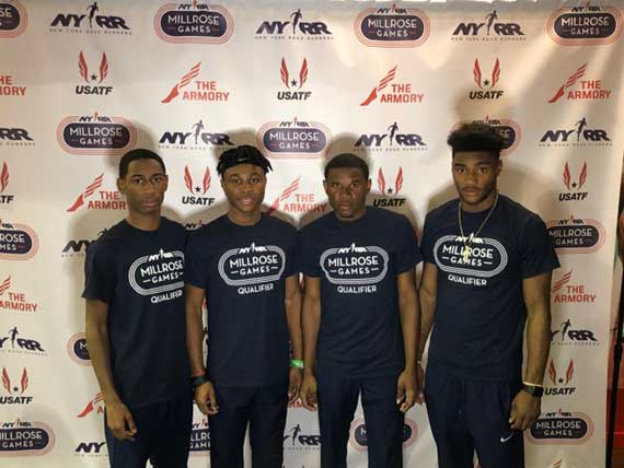 East Orange Campus HS boys' 4×400 relay team qualifies for Millrose Games for fifth year in a row