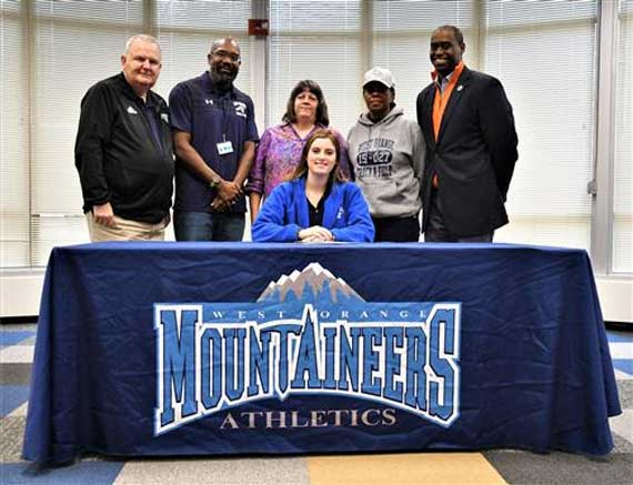 West Orange HS cross-country/track & field athlete Alina Chant signs with Georgian Court