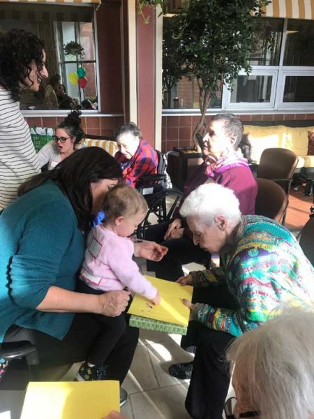 DOI residents engage with area toddlers