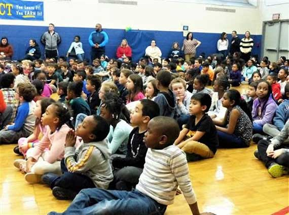 Mt. Pleasant celebrates 'Day of Service' in honor of Martin Luther King Jr.