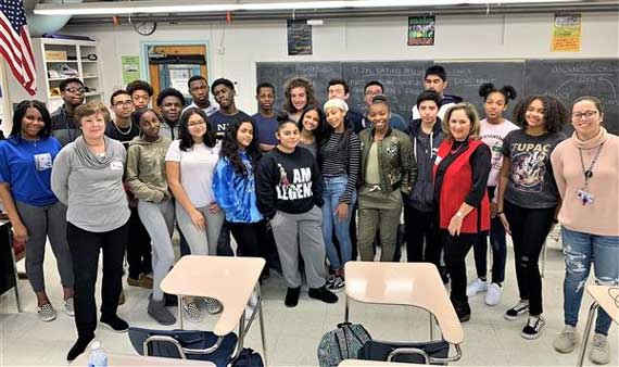 Teen dating abuse experts visit WOHS health classes