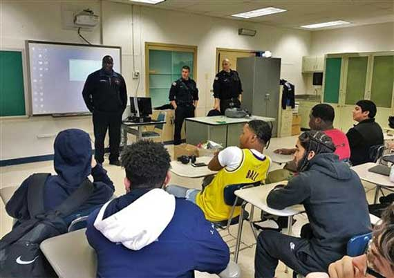 West Orange High School alumni visit CPR classes