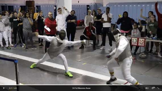 Columbia HS fencing teams advance to Elite 8 of State Championship