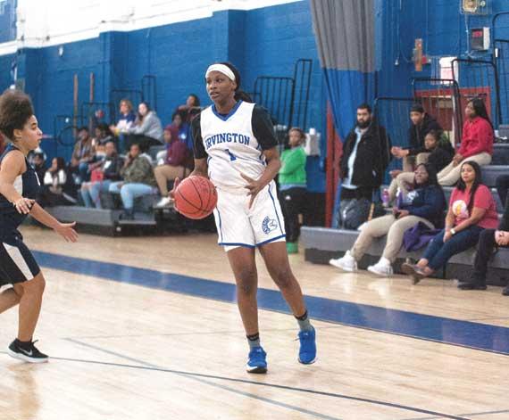 Irvington HS girls basketball team win streak reaches 10