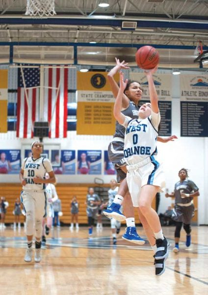 West Orange HS girls basketball team is No. 3 seed in ECT