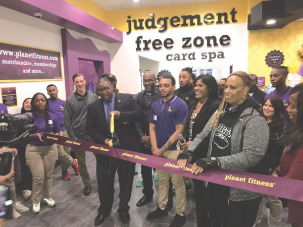 Irvington hosts grand opening of new Planet Fitness