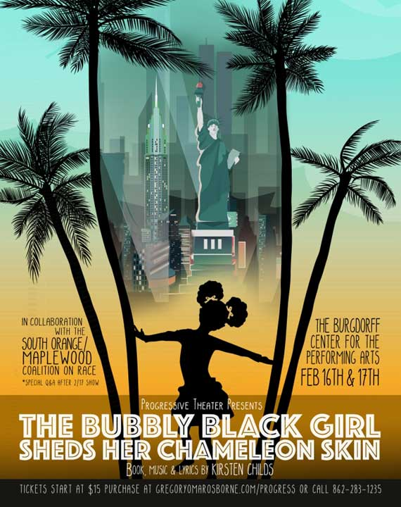 'Bubbly Black Girl' staged at Burgdorff