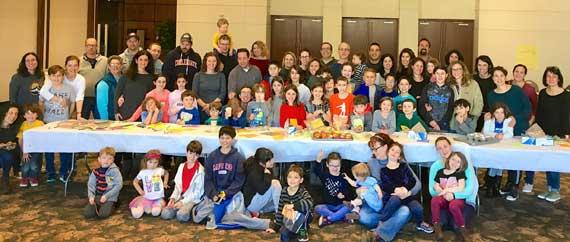 TSTI religious school students bake for Interfaith Food Pantry