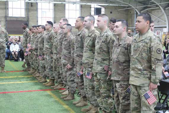 National Guardsmen prepare to deploy in WO ceremony