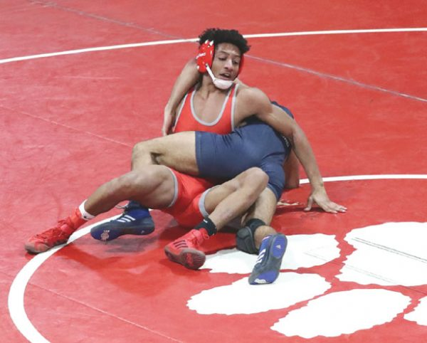 Bloomfield HS wrestling team enjoys stellar performance at District 9 tournament