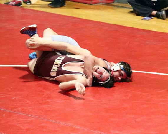 Bloomfield HS wrestling team finishes with school-record 22 wins in regular season