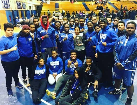 Irvington HS wrestling team wins NJ Urban League title
