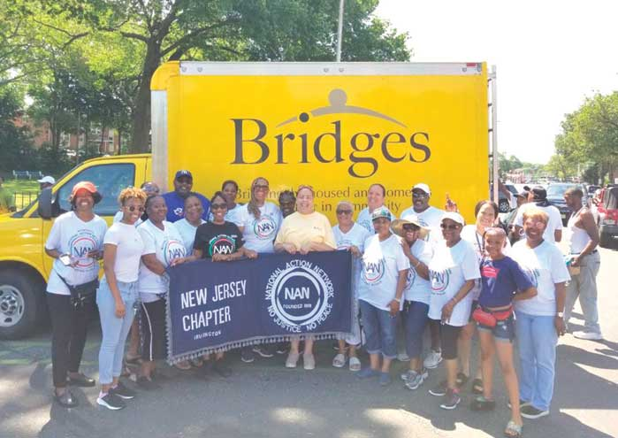 Irvington NAN Chapter partners with others to feed the needy