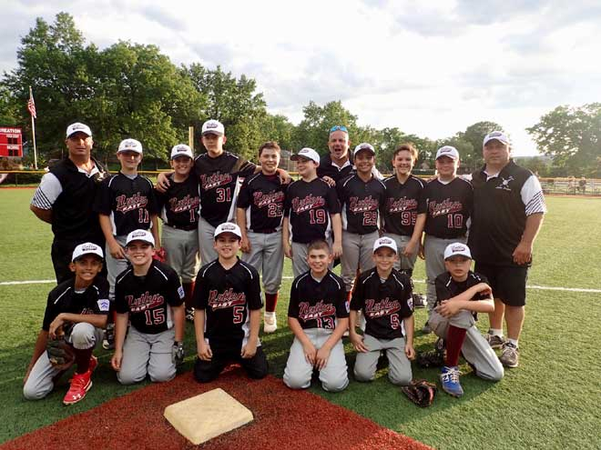 Nutley East Little League team enjoys great district tournament run