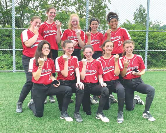 Villagers 14U softball team wins Verona title